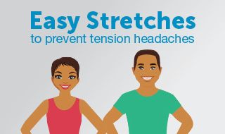 Stretches to prevent headache